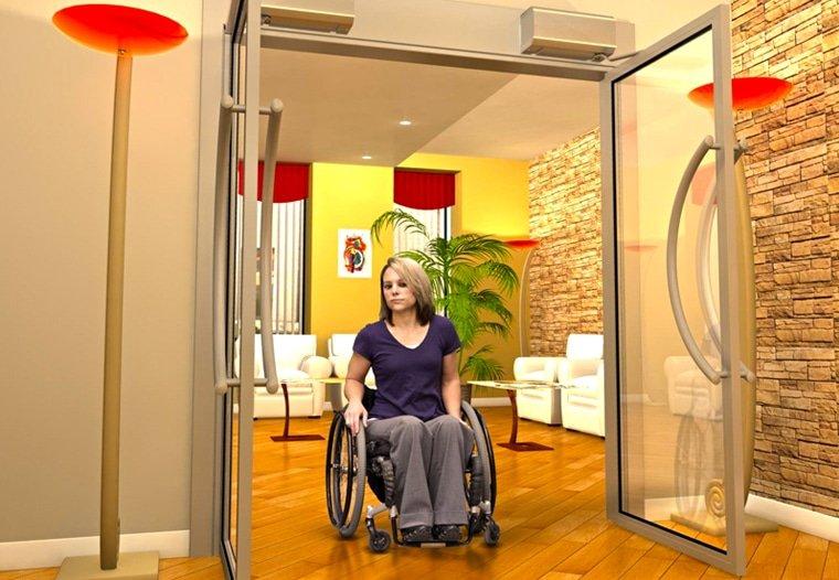 Apartment Handicap doors